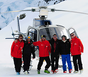 The best helicopters and guides for Heli Skiing